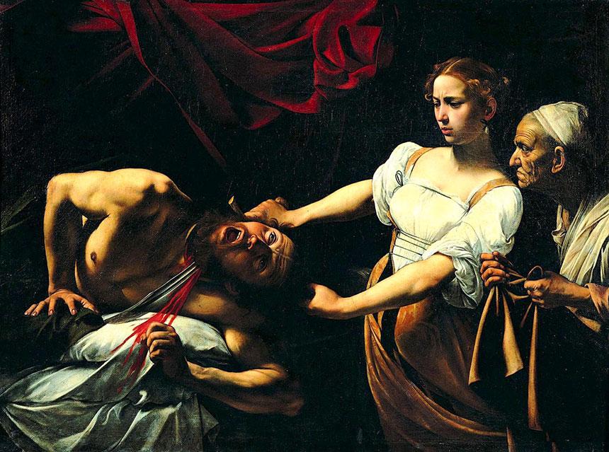 Obras de Caravaggio Palazzo Barberini 1598 1599