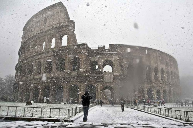 inverno na italia
