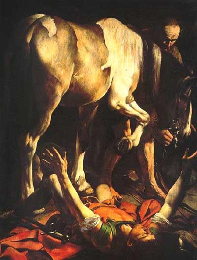 obras de caravaggio igreja santa maria del popolo conversão são paulo