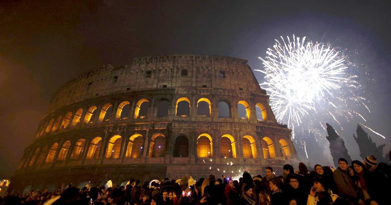 ano novo em roma
