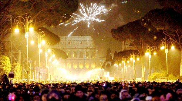 ano novo roma