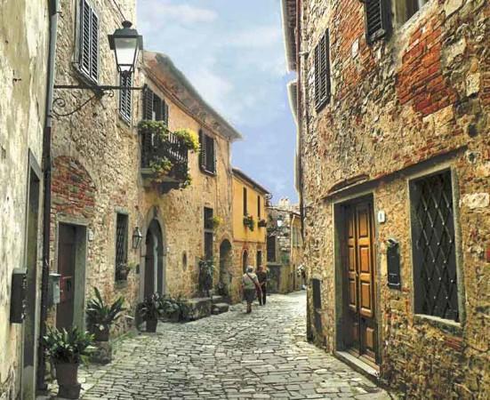 cidades toscana montefioralle