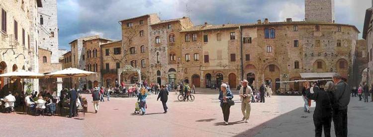 cidades toscana san gimignano