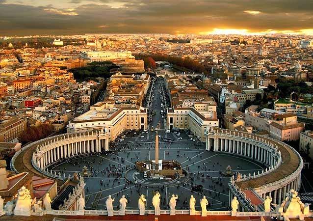 vista alto basilica sao pedro