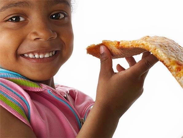 Visitar Roma com crianças, alimentação