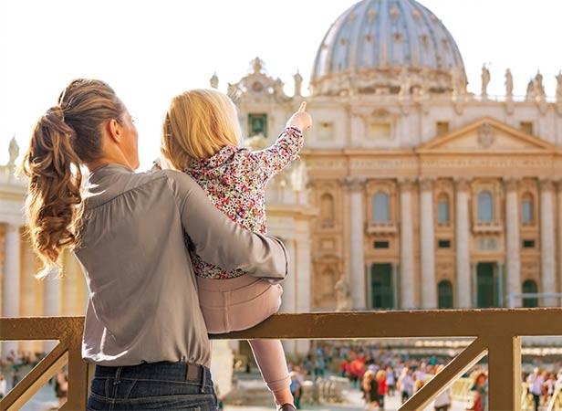 Visitar Roma com crianças, os monumentos