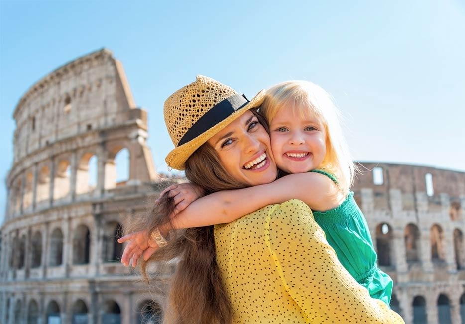 visitar Roma com crianças