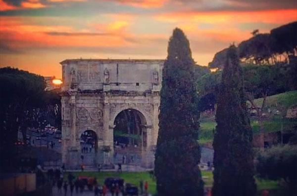 arco de constantino resquícios império romano