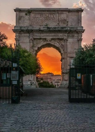 Arco deTito império romano