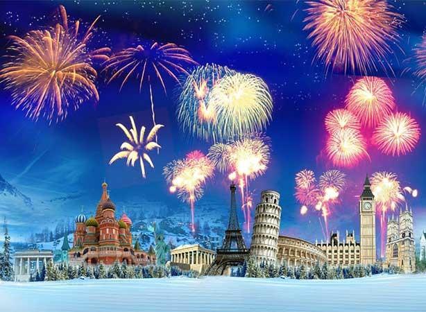 Ano novo em Nápoles