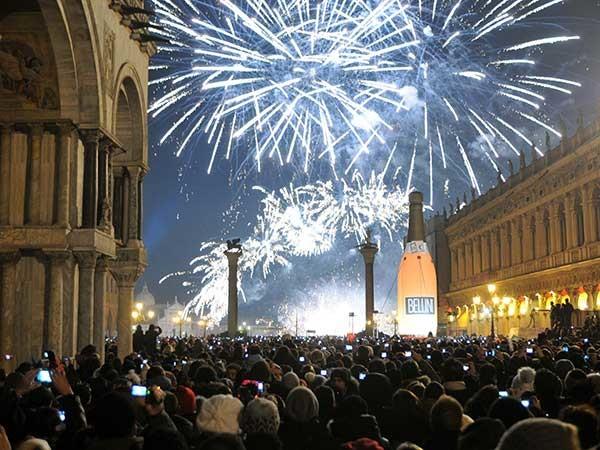 Atraçoes ano novo Itália