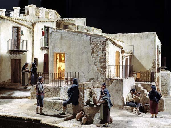 Presépio de natal na Sicília