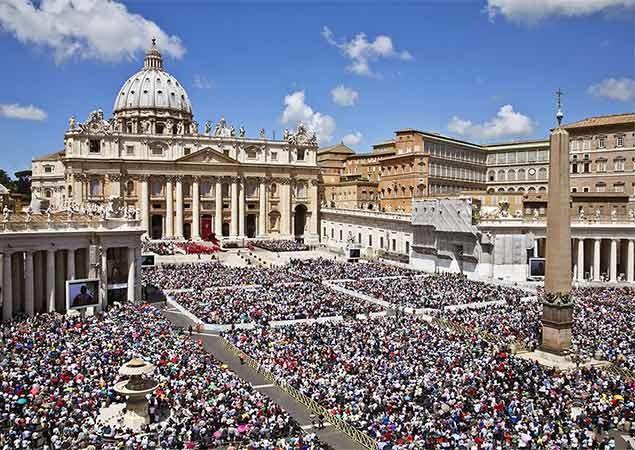Quando ver o Papa em Roma
