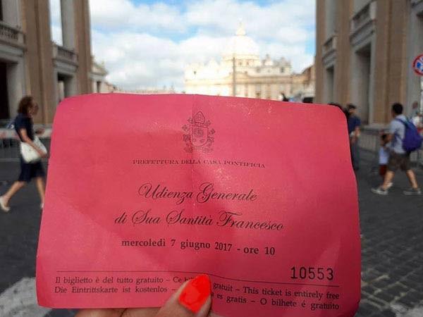 Missa aos domingos em Roma