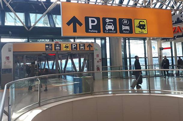 Como chegar do aeroporto ao centro de Roma