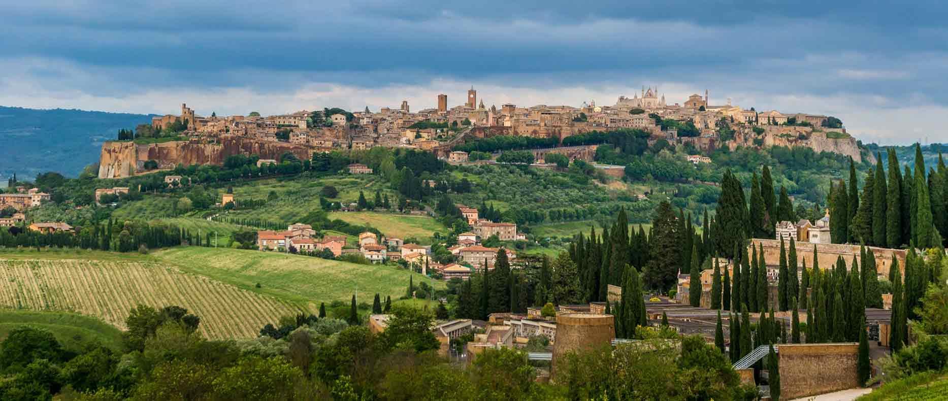Orvieto, cidades próximas a Roma